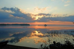 Dawn Beauty Love Nature Lake