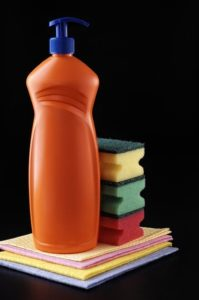 Detergent Plastic Housework
