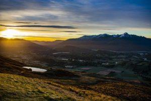 Early Morning Landscape Sunrise
