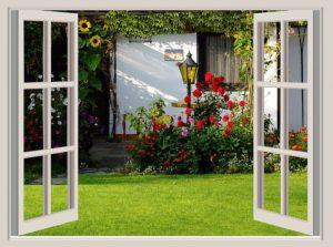 Garden Garden Shed Flowers House
