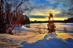 Landscape Nature Winter Sky Colors