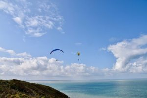 Panoramic Views Paragliders
