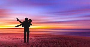 Sunset Ocean Beach Sky Nature Sea