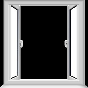 Window Transparent Open Window