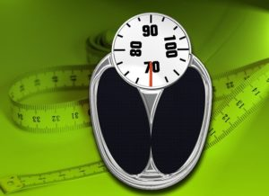 Bathroom Scale Horizontal Weight