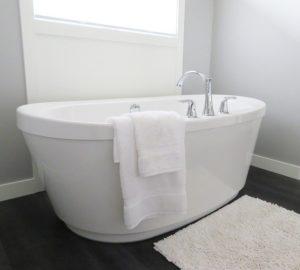 Bathtub Tub Bathroom Bath White