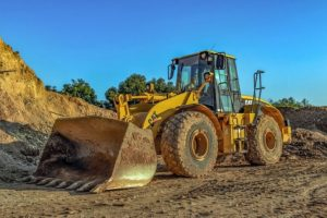Bulldozer Heavy Machine Yellow
