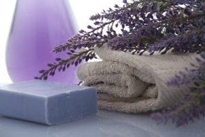 Lavender Soap Towels Beauty