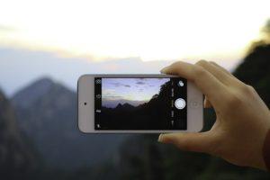 Phone Screen Device Photo Camera