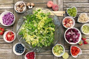 Salad Fruits Berries Healthy