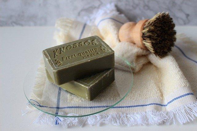 Soap Bristle Natural Brush Rag