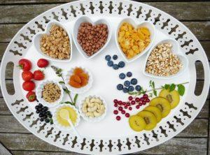 Tray Breakfast Muesli Fruit Fruits